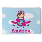 Airplane & Girl Pilot Serving Tray (Personalized)