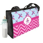 Airplane Theme - for Girls Diaper Bag (Personalized)