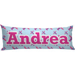 Airplane Theme - for Girls Body Pillow Case (Personalized)