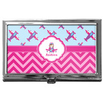 Airplane Theme - for Girls Business Card Case