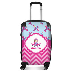 Airplane Theme - for Girls Suitcase (Personalized)