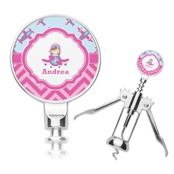 Airplane Theme - for Girls Corkscrew (Personalized)