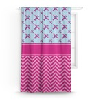 Airplane Theme - for Girls Curtain (Personalized)