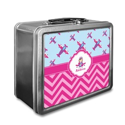 Airplane Theme - for Girls Lunch Box (Personalized)