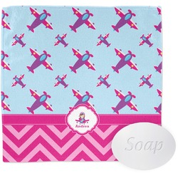 Airplane Theme - for Girls Wash Cloth (Personalized)