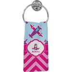 Airplane Theme - for Girls Hand Towel - Full Print (Personalized)