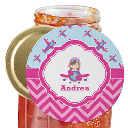 Airplane Theme - for Girls Jar Opener (Personalized)