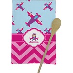 Airplane Theme - for Girls Kitchen Towel - Full Print (Personalized)