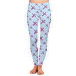 Airplane Theme - for Girls Ladies Leggings (Personalized)