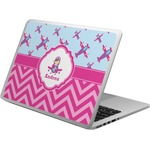 Airplane Theme - for Girls Laptop Skin - Custom Sized (Personalized)