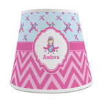 Airplane Theme - for Girls Empire Lamp Shade (Personalized)