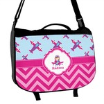 Airplane Theme - for Girls Messenger Bag (Personalized)