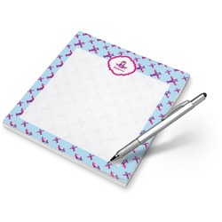 Airplane Theme - for Girls Notepad (Personalized)