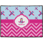 Airplane Theme - for Girls Door Mat (Personalized)