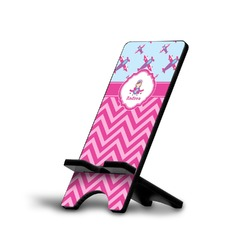 Airplane Theme - for Girls Cell Phone Stands (Personalized)
