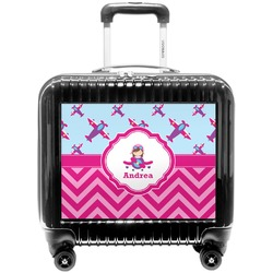 Airplane Theme - for Girls Pilot / Flight Suitcase (Personalized)