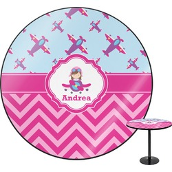 Airplane Theme - for Girls Round Table (Personalized)