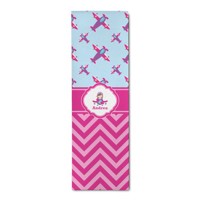 Airplane Theme - for Girls Runner Rug - 3.66'x8' (Personalized)