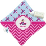 Airplane Theme - for Girls Security Blanket (Personalized)