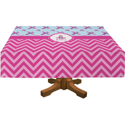 Airplane Theme - for Girls Tablecloth (Personalized)