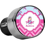 Airplane Theme - for Girls USB Car Charger (Personalized)