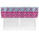 Airplane Theme - for Girls Valance (Personalized)