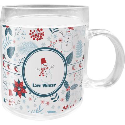 Winter Acrylic Kids Mug (Personalized)