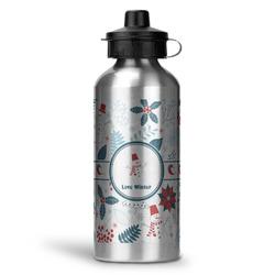 Winter Water Bottle - Aluminum - 20 oz (Personalized)