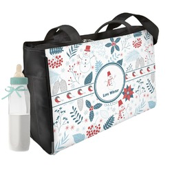 Winter Snowman Diaper Bag