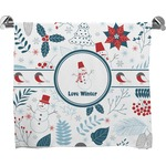 Winter Full Print Bath Towel (Personalized)