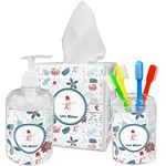 Winter Bathroom Accessories Set (Personalized)