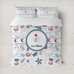Winter Snowman Duvet Cover