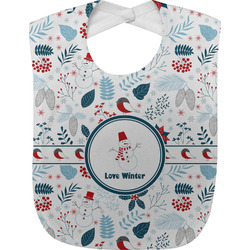Winter Baby Bib (Personalized)