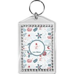 Winter Bling Keychain (Personalized)