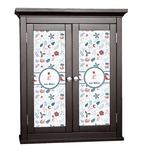 Winter Cabinet Decal - Custom Size (Personalized)