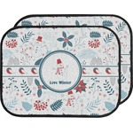 Winter Car Floor Mats (Back Seat) (Personalized)