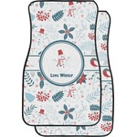 Winter Car Floor Mats (Front Seat) (Personalized)