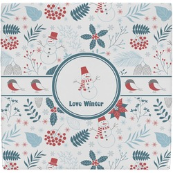 Winter Ceramic Tile Hot Pad (Personalized)