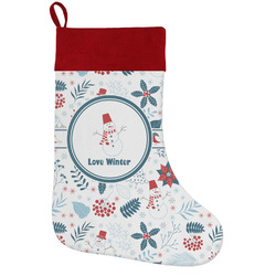 Winter Holiday / Christmas Stocking (Personalized)