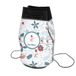 Winter Neoprene Drawstring Backpack (Personalized)