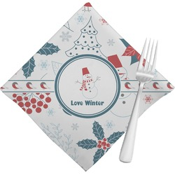 Winter Napkins (Set of 4) (Personalized)