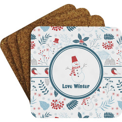 Winter Coaster Set (Personalized)