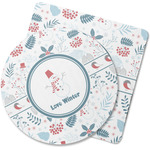 Winter Rubber Backed Coaster (Personalized)