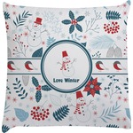 Winter Decorative Pillow Case (Personalized)