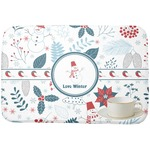 Winter Dish Drying Mat (Personalized)