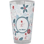 Winter Drinking / Pint Glass (Personalized)