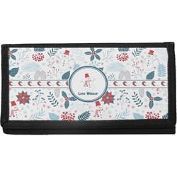 Winter Canvas Checkbook Cover (Personalized)