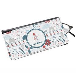 Winter Genuine Leather Eyeglass Case (Personalized)
