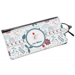 Winter Genuine Leather Eyeglass Case (Personalized)