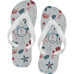 Winter Flip Flops (Personalized)